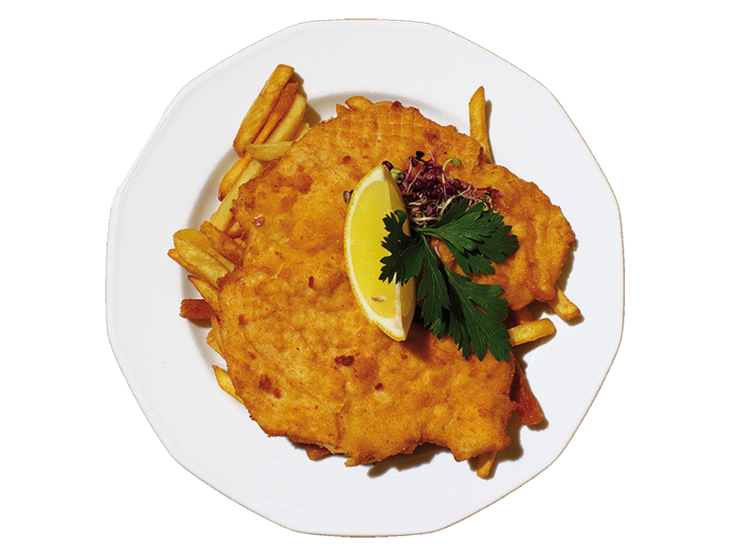 Wiener Schnitzel with parsley potatoes