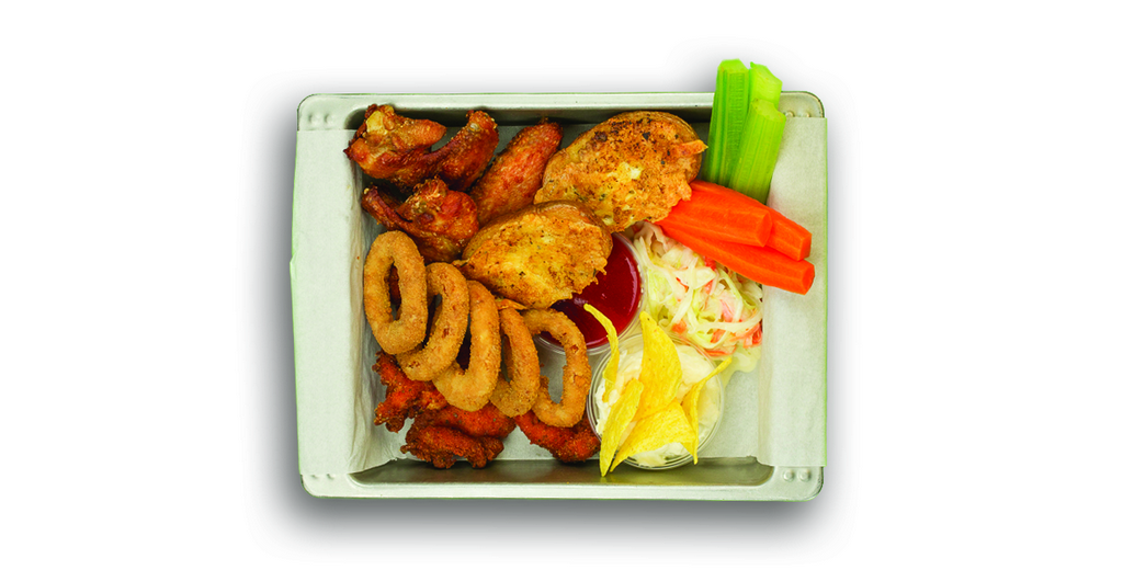 Champs Snack Plate